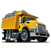 Dump truck games free-icoon