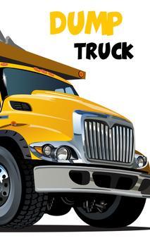 Dump truck games free पोस्टर