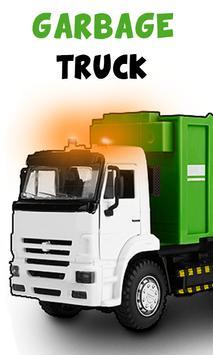 Garbage truck poster