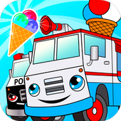 Icona Crazy ice cream truck driver