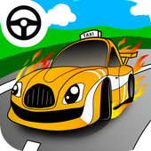taxi car games for little kids apk