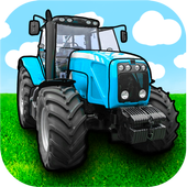 Tractor games for kids आइकन