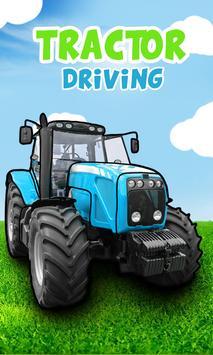 Tractor games for kids पोस्टर