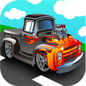 Pickup truck games icon