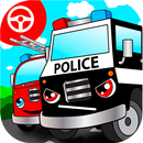 Police car games for kids free APK
