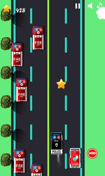 Police car games for kids free screenshot 1