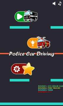 Police car games for kids free screenshot 2