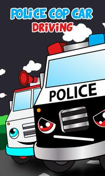 Police car games for kids free screenshot 3