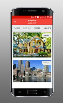 Boston Attractions Planner apk screenshot