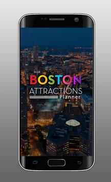 Boston Attractions Planner poster