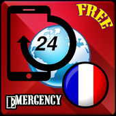 France Emergency numbers icon