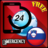 Slovenia Emergency Number icon