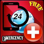 Switzerland Emergency Contact icon