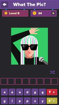 What's the Pic? icomania poster