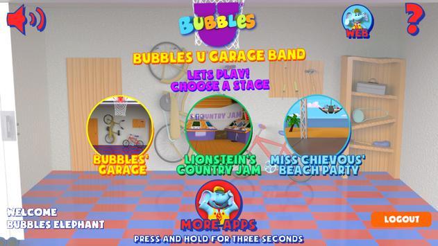 Bubbles U: Garage Band screenshot 1