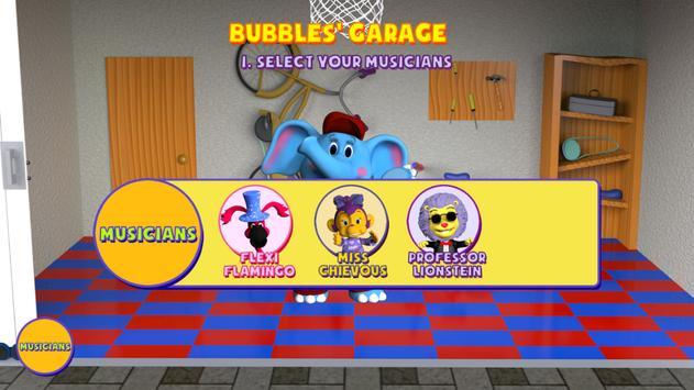 Bubbles U: Garage Band screenshot 2
