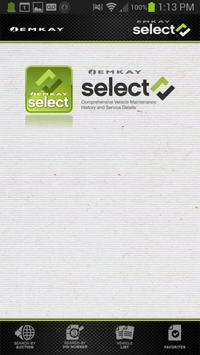 Emkay Select poster