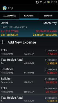Travel Expenses 截圖 2