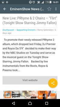EminemShow News screenshot 1