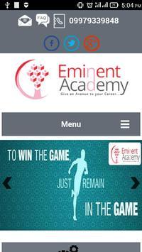Eminent Academy poster