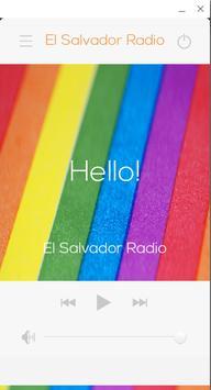 El Salvador Radio poster