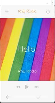 RnB Radio poster