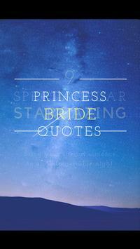 Princess Bride Quotes poster