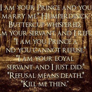 Princess Bride Quotes apk screenshot