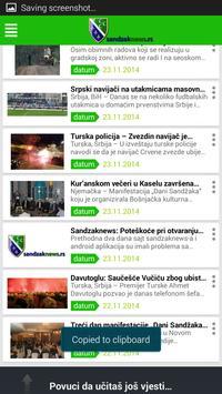 Sandzaknews apk screenshot