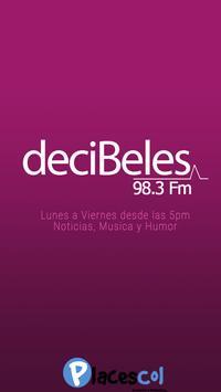 Decibeles FM poster