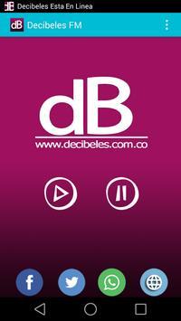 Decibeles FM apk screenshot