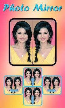 Funny Photo Mirror poster