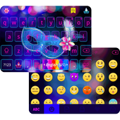 Carnival Emoji Keyboard Theme icon