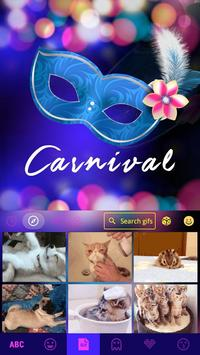 Carnival Emoji Keyboard Theme apk screenshot