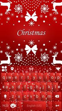 New Christmas iKeyboard Theme poster