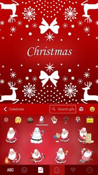 New Christmas iKeyboard Theme screenshot 2