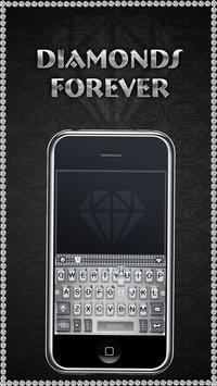 DiamondsForever iKeyboardTheme poster