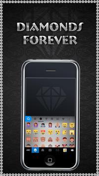 DiamondsForever iKeyboardTheme screenshot 1