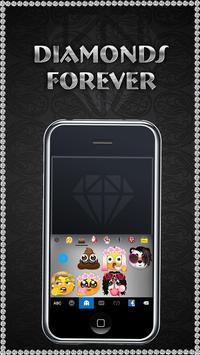 DiamondsForever iKeyboardTheme screenshot 2