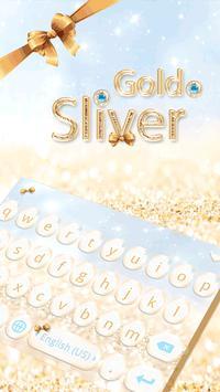 Gold & Sliver Emoji Keyboard poster