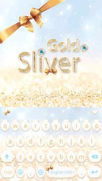 Gold & Sliver Emoji Keyboard screenshot 1