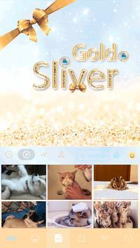 Gold & Sliver Emoji Keyboard screenshot 3