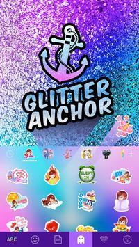 Anchor Emoji iKeyboard Theme apk screenshot