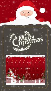 Christmas iKeyboard EmojiTheme poster
