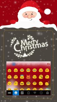 Christmas iKeyboard EmojiTheme apk screenshot