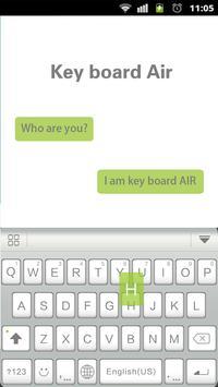 Air Theme for Keyboard Emoji poster