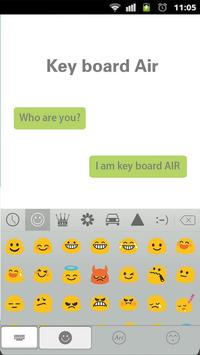 Air Theme for Keyboard Emoji apk screenshot