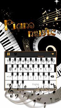 Piano iKeyboard Emoji Theme poster