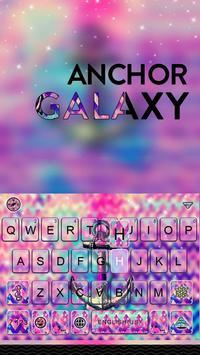 Anchor Galaxy Emoji Keyboard poster