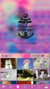 Anchor Galaxy Emoji Keyboard screenshot 2